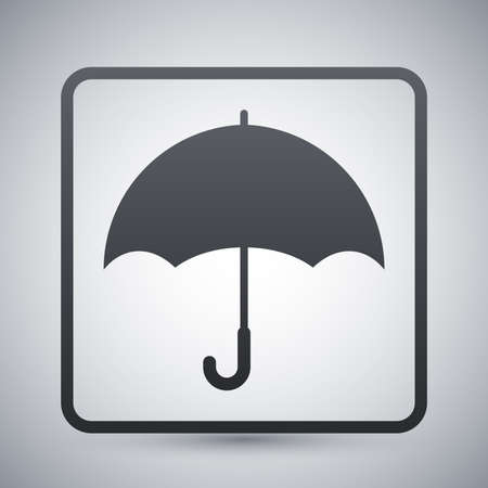 Keep dry packaging symbol