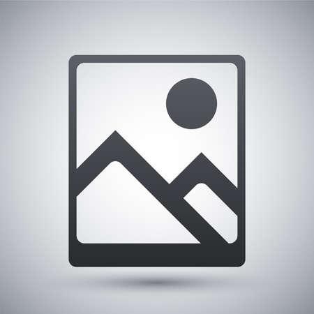 cinematographer: Vector photograph icon