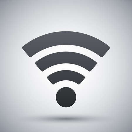 wireless network: Vector icono de red inal�mbrica