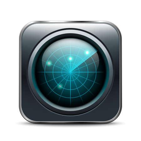 oscilloscope: Radar App Icon