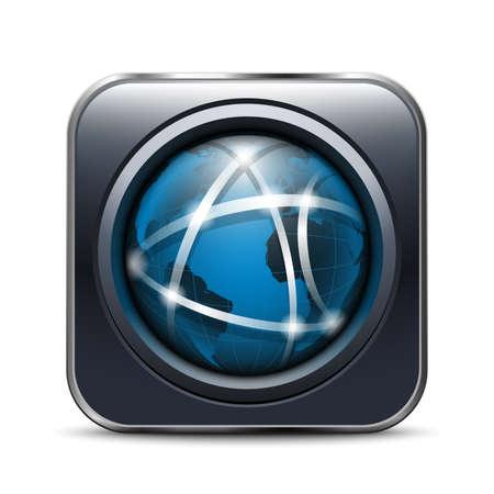 globális kommunikációs: Globális kommunikációs App Icon