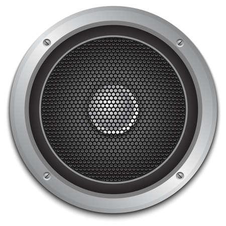 speaker icon: Audio speaker icon, vector