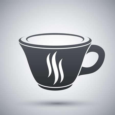 コーヒーカップ: ベクトル コーヒー カップのアイコン  イラスト・ベクター素材
