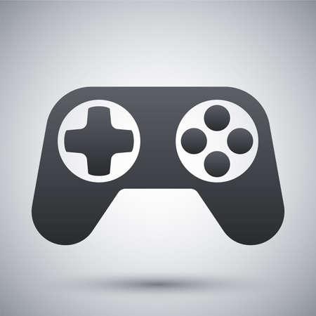 Gamepad icon, vector Illustration