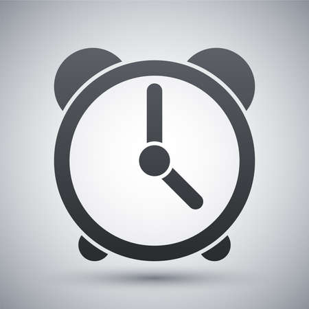 countdown clock: Vector clock icon Illustration