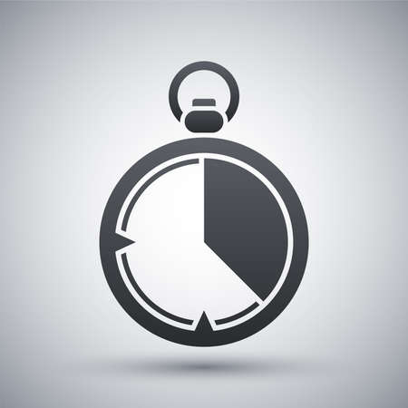 span: Stopwatch icon, vector Illustration
