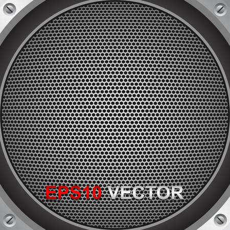 speaker grill: Speaker grill, vector Illustration