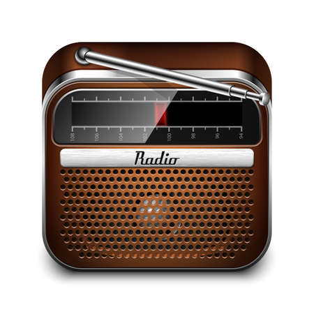 retro radio: Retro Radio Icon