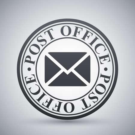postal stamp: Vector postal stamp icon Illustration