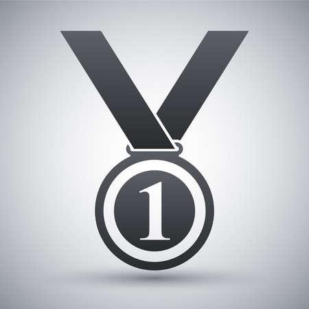 Vector medal icon Vector