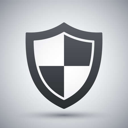 Vector protection icon Фото со стока - 41237102