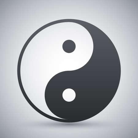 yin y yan: Vector el yin y el yang Vectores