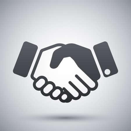 Vektor-Handshake-Symbol