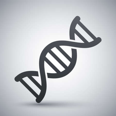 life science: Vector DNA icon Illustration