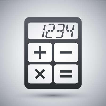 teclado numerico: Calculadora Vector icono