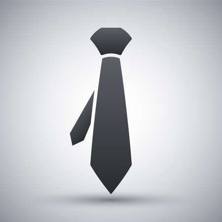 Vector necktie icon Illustration