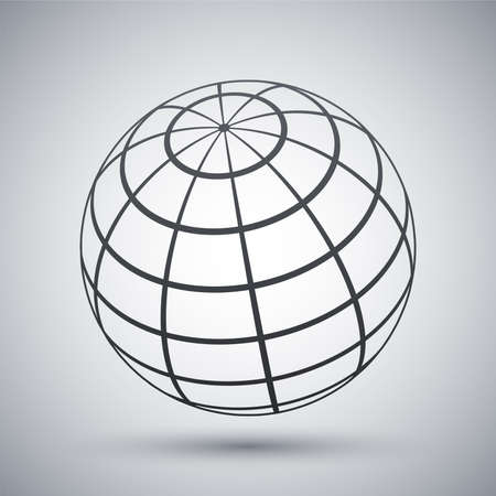 global communications: Vector global communications icon