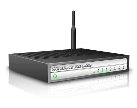 wap: Wireless Router. Vector illustration