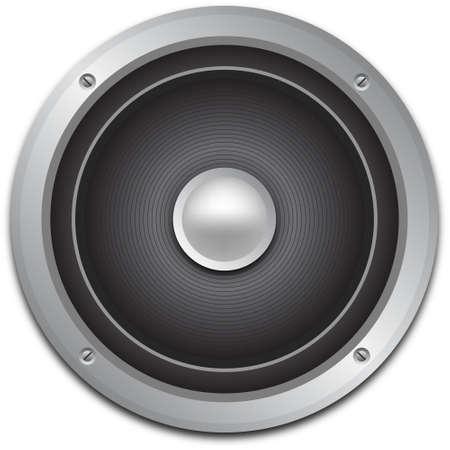 loud speaker: Audio speaker icon, vector