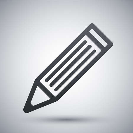 tip style design: Vector pencil icon