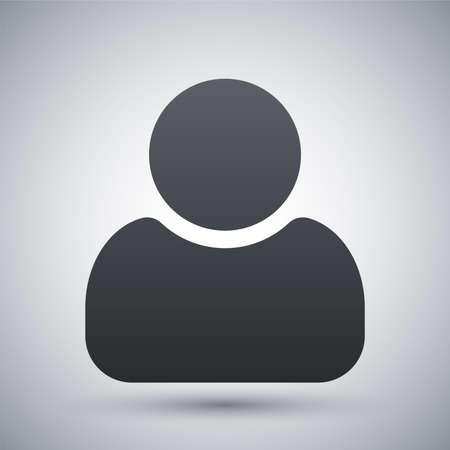 Gebruikers icoon vector