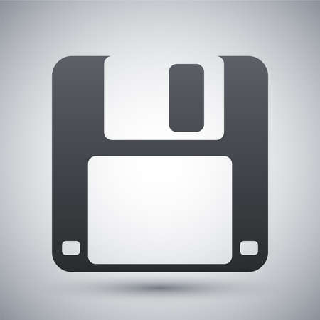 Vector floppy disk icon Illustration
