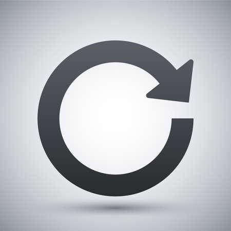 Vector reload icon