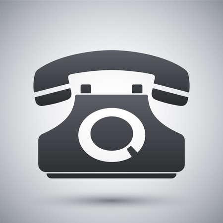 techology: Vector telephone icon