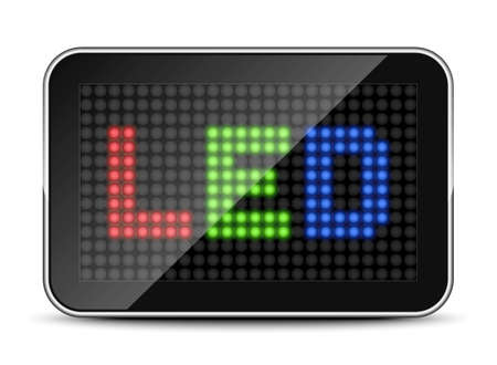 light emitting diode: LED Screen Icon