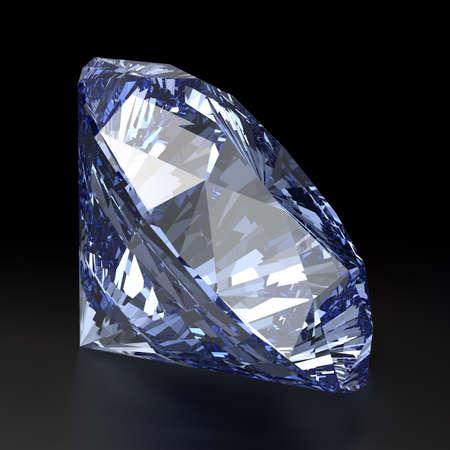Blue Diamond Shape Vector