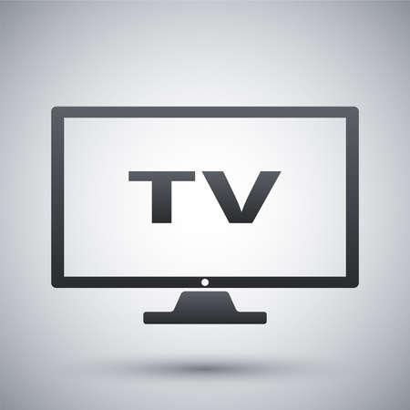 iptv: Vector modern tv icon