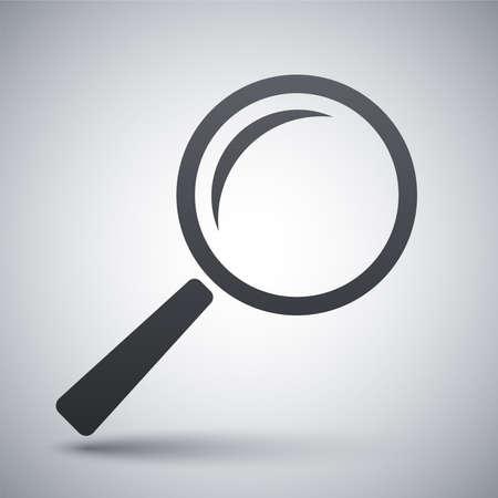 Vector search icon Vettoriali