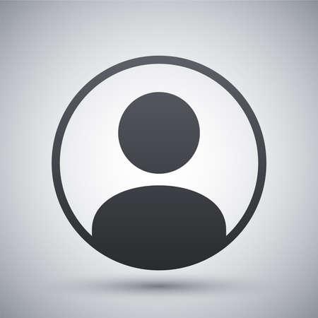 profil: Wektor użytkownika ikony