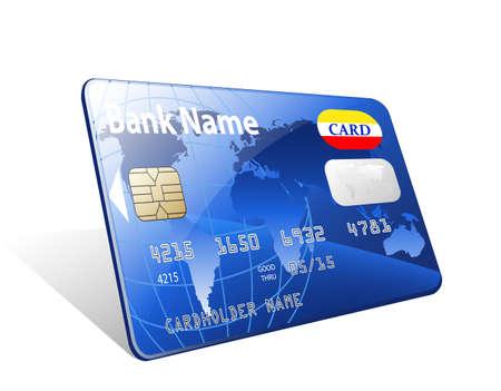 credit card: Vector icono de la tarjeta de crédito Vectores