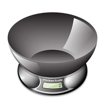 kitchen scale: Electronic kitchen scale