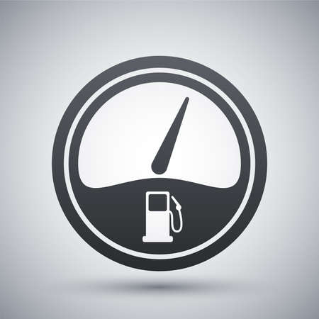 fuel gauge icon