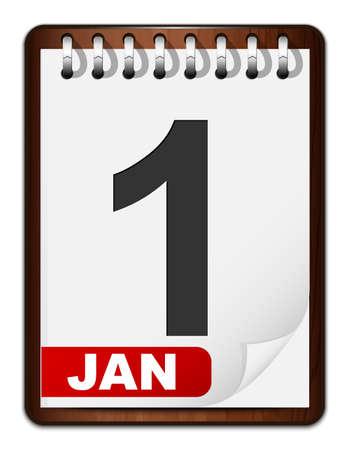 detachable: calendar icon Illustration