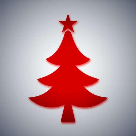arbre: Arbre de Noël  Illustration