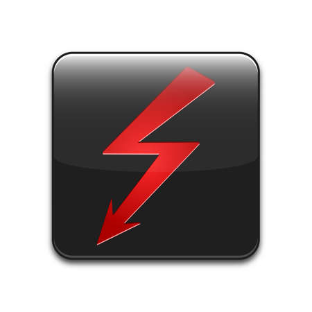 high voltage sign: high voltage sign or icon