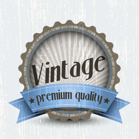 premium quality: Retro Vintage Badge - Premium Quality