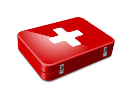 first aid kit: Icono de los primeros auxilios