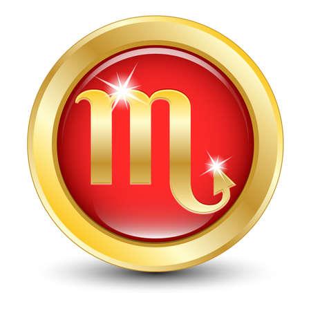 escorpio: Zodiaco de oro signo Escorpio