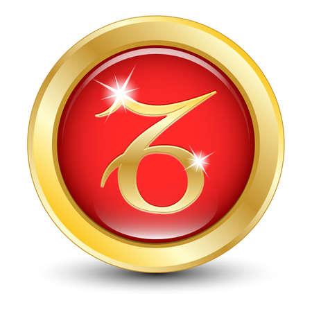 virgo the virgin: Golden zodiac sign Capricorn