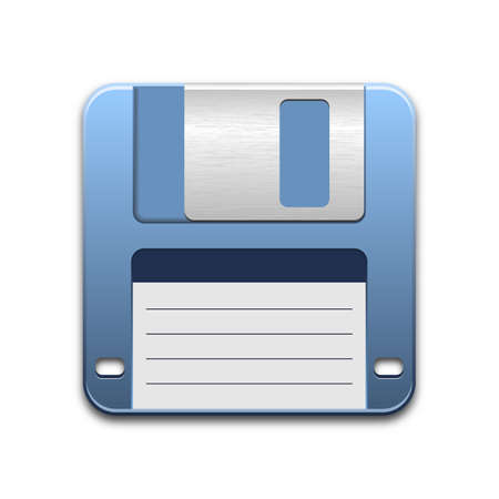 diskette: Vector Floppy Disk Icon