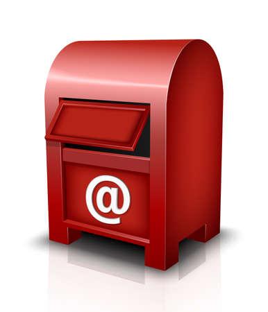 mailbox: Vector Mailbox Icon