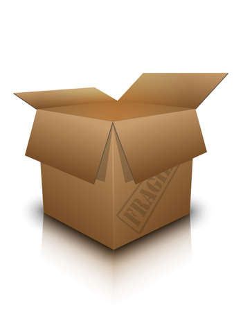 Open box, vector Illustration