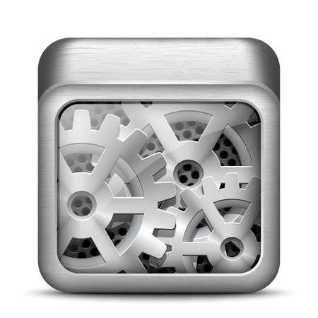 workings: Settings icon. EPS10 vector Illustration