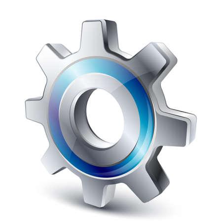 settings icon: Vector settings icon