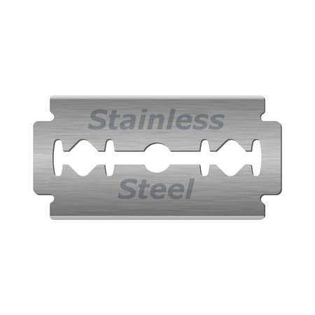 razor blade: Razor blade icon isolated on white background, vector ilustration Illustration