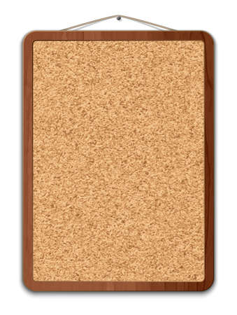 pin board: Blank cork board